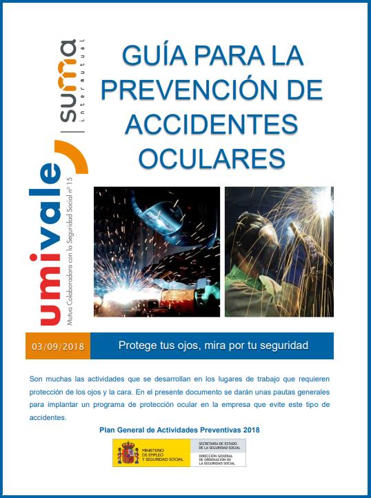 Prevención de accidentes oculares