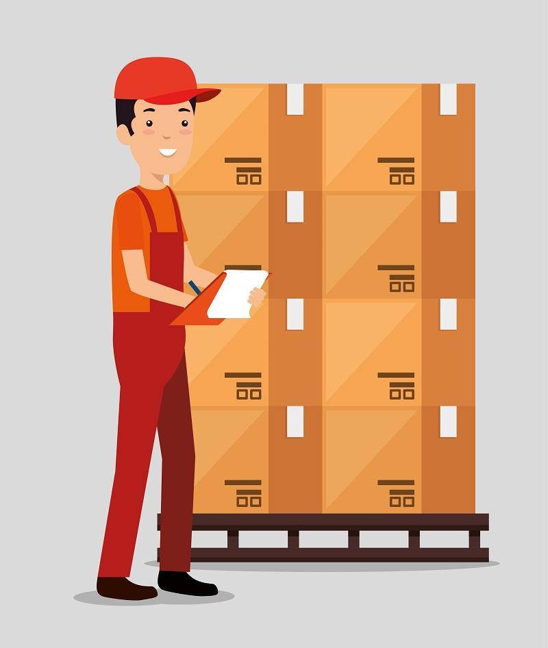 Prevención para operarios de almacén