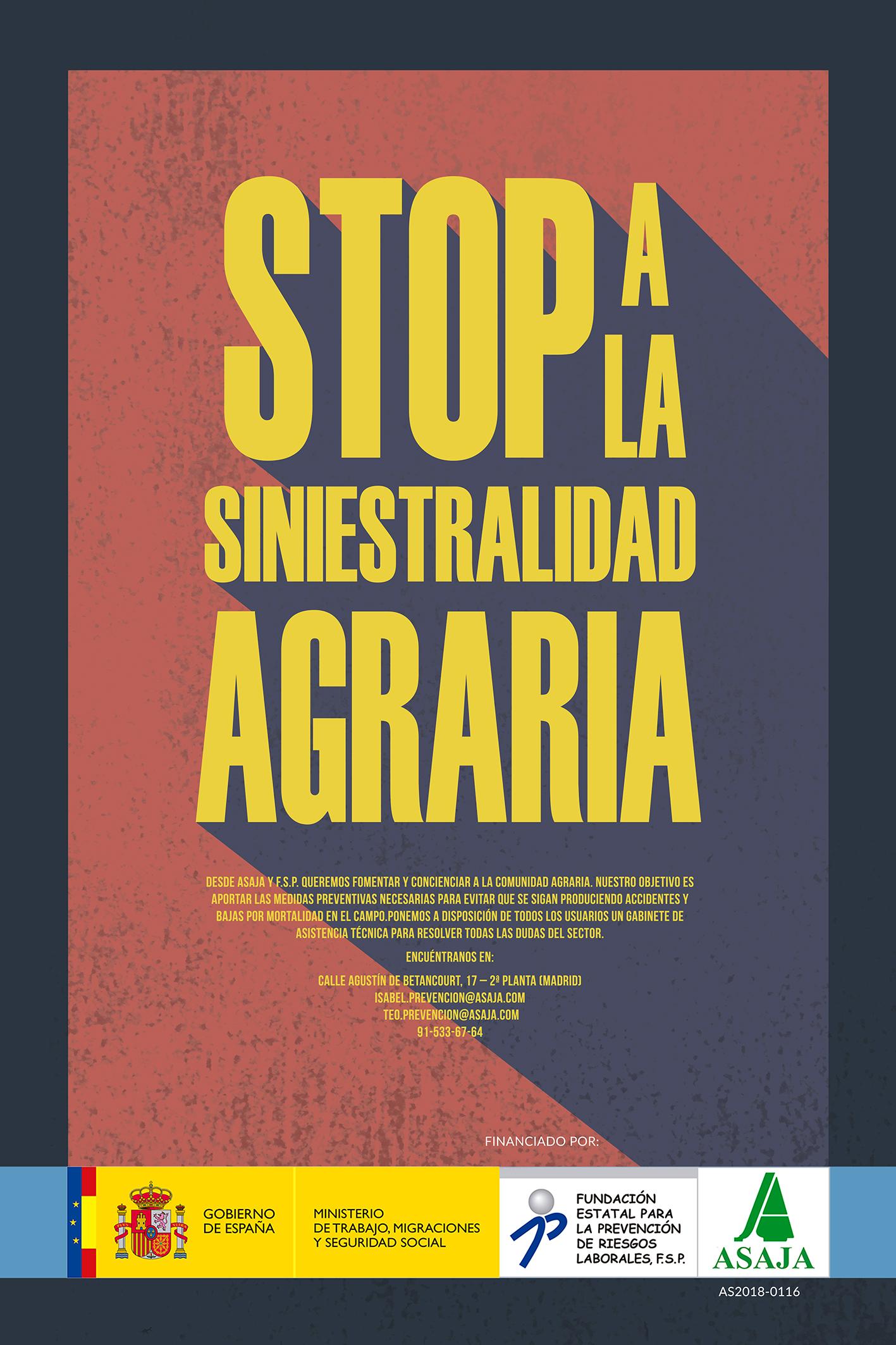 Stop a la siniestralidad agraria